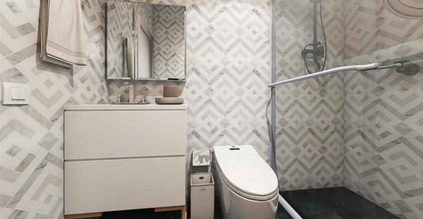 Aula 1 Interior Design Render