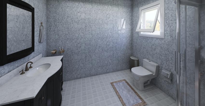 Quarto suite moderno Interior Design Render