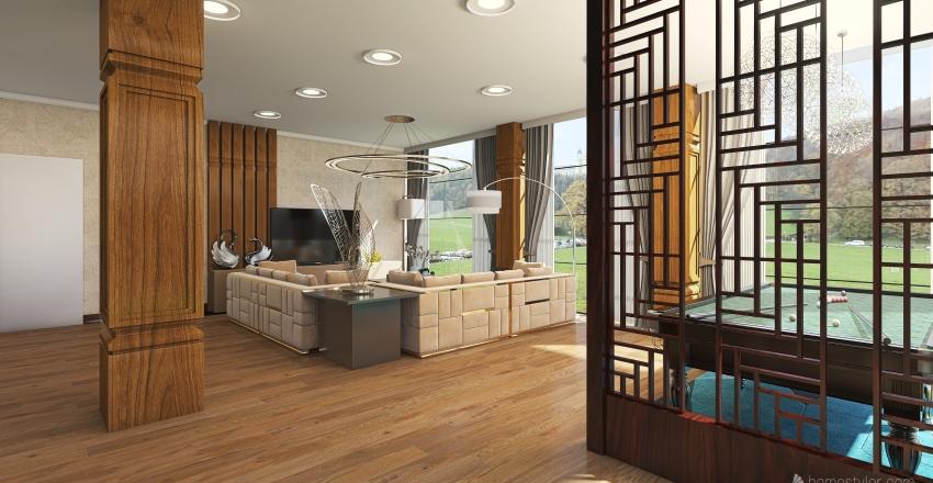 Anil open garden Interior Design Render