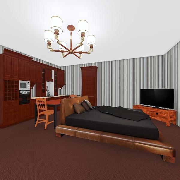 хата Interior Design Render