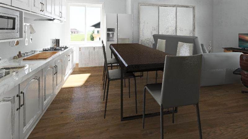 YuryTestFlat Interior Design Render
