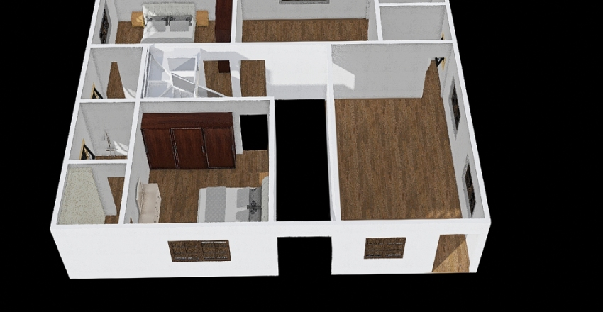 Aamir House Interior Design Render