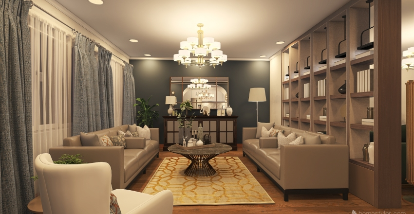 house-3 Interior Design Render