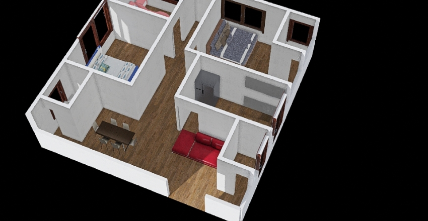 PAGLICAWAN'S FLOOR PLAN Interior Design Render