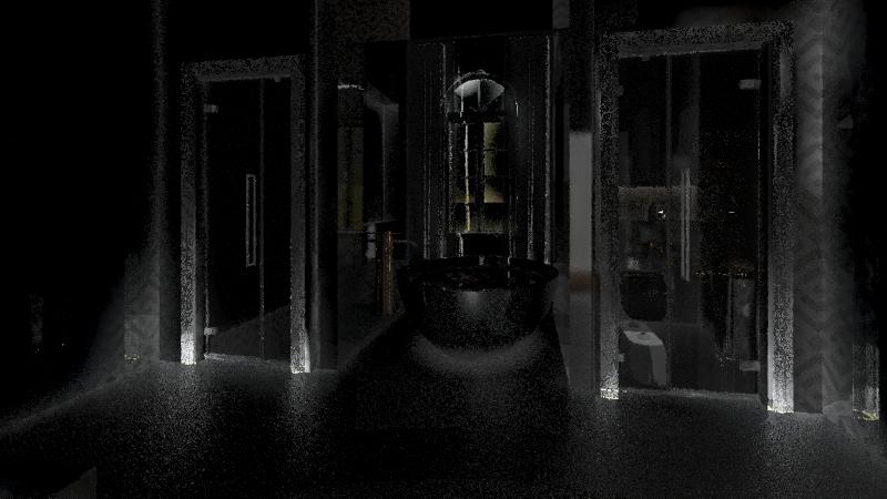 الطابق الثاني  Interior Design Render