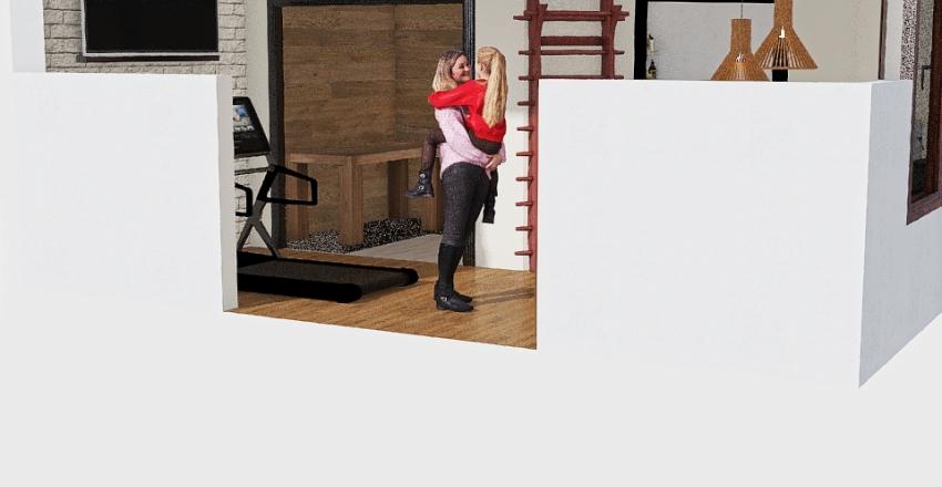 Gartenhaus Interior Design Render