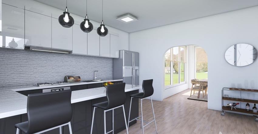 Scandinavian interior Interior Design Render