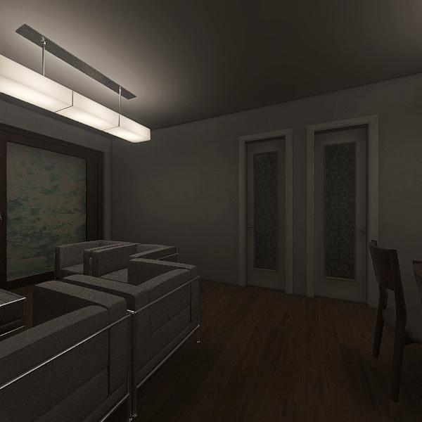 Apartamento 2 quartos Interior Design Render
