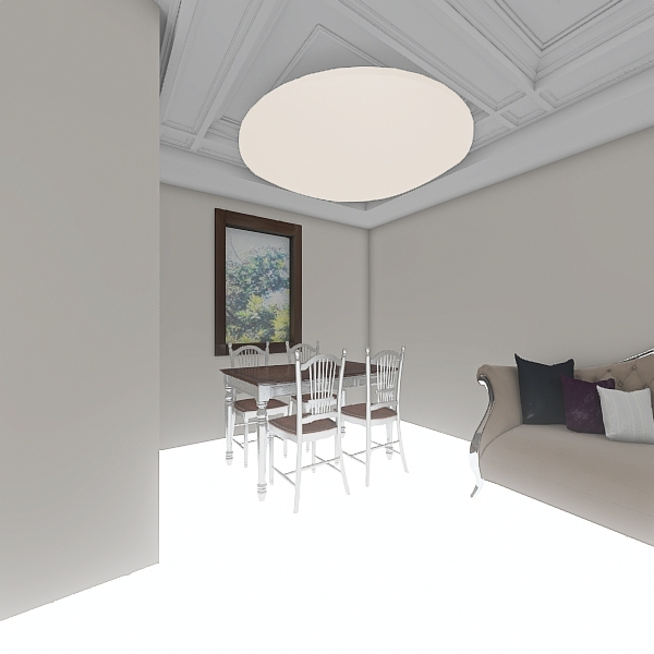 Just a classy townhome  Interior Design Render