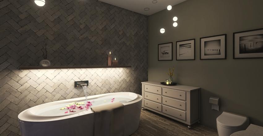 Rome Apartment Interior Design Render