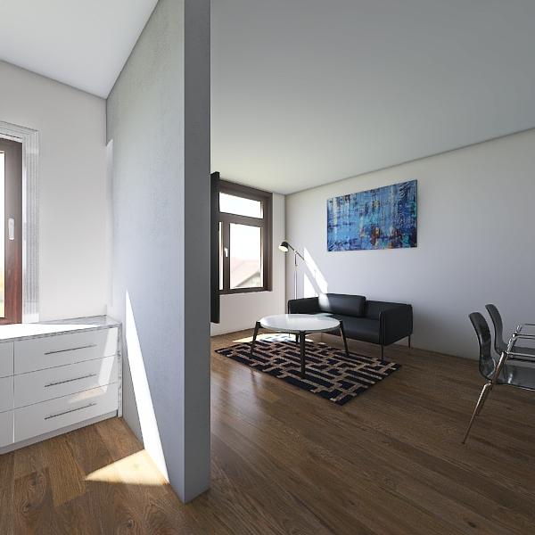 Mieszkanie 2 Interior Design Render