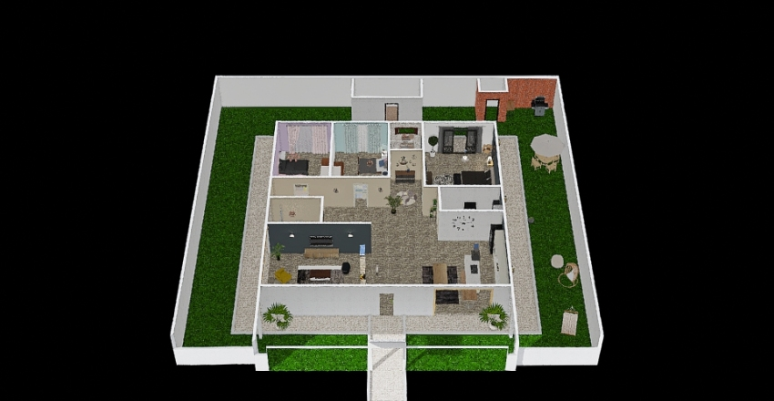 Our Home SN Interior Design Render
