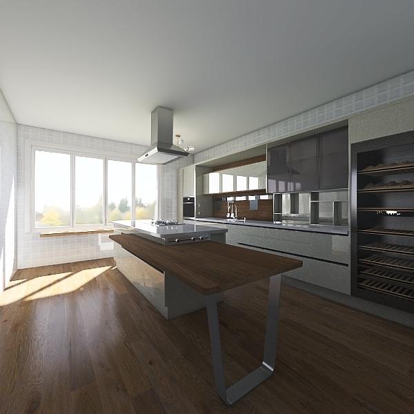 مطبخ Interior Design Render