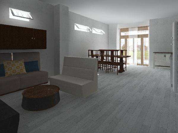 SALETTA  SENZA TENDE Interior Design Render
