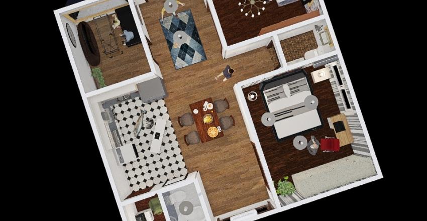MATH RT Interior Design Render