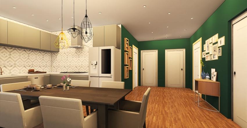 Casa moderna en Tenerife Interior Design Render
