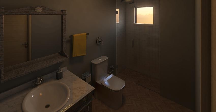 Banheiro - Exercício 3 Interior Design Render