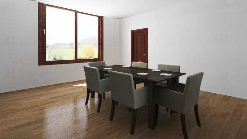 floor 1 Interior Design Render