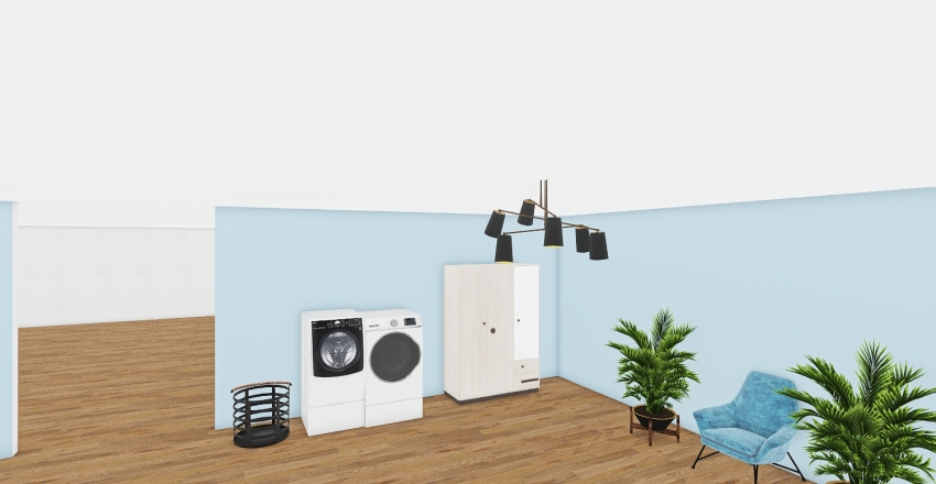 house clara Interior Design Render