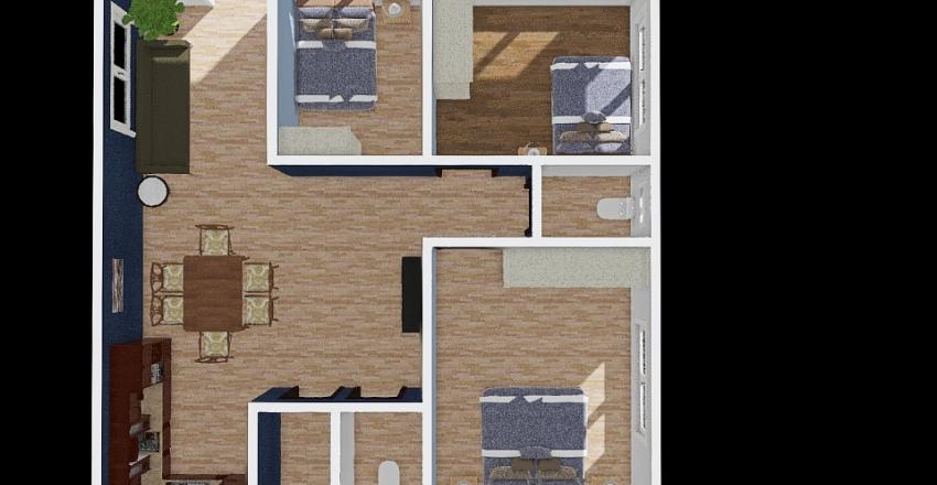 CRUZ'S _FLOOR-PLAN Interior Design Render