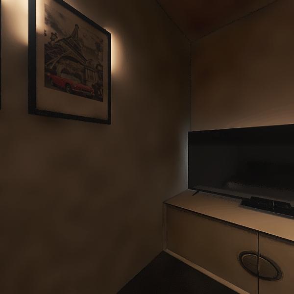 new small house Interior Design Render