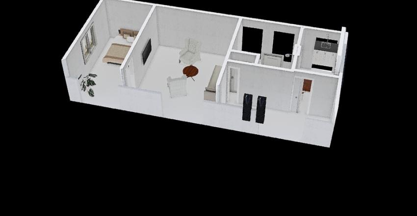 Déri M. 9 Interior Design Render