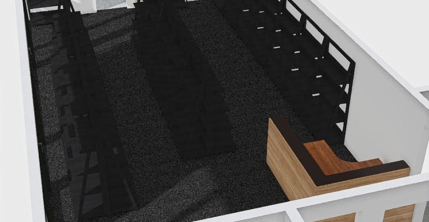 Showroom Interior Design Render