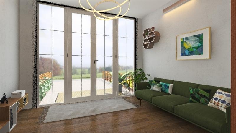 Hillary house design Interior Design Render