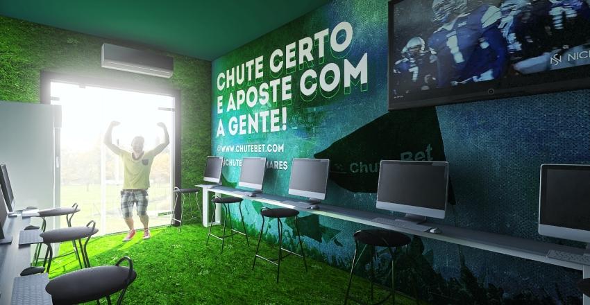 ChuteBet Interior Design Render
