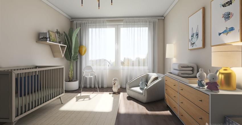 0-3 Interior Design Render