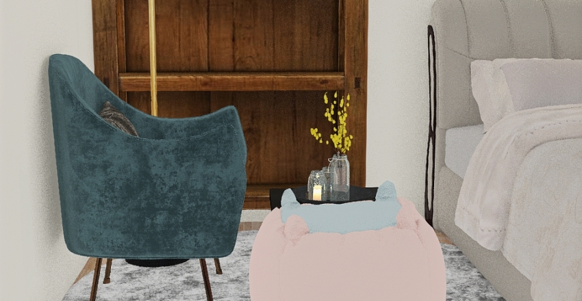 Rayane's Room Interior Design Render