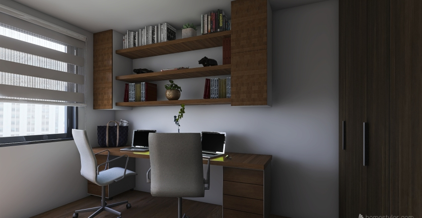 Oficina2 Interior Design Render