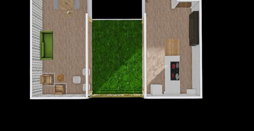 Loja Pop Up Interior Design Render