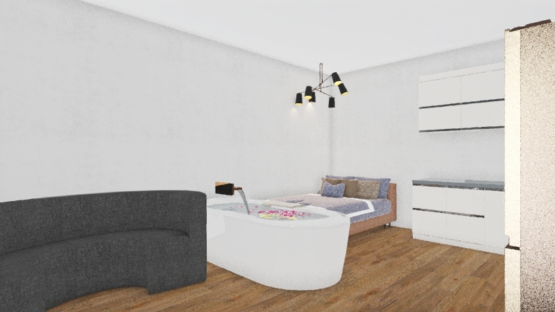cats and kittens  Interior Design Render