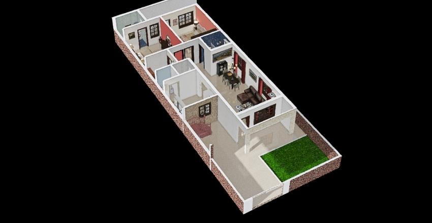 Nautiyal Haveli * Interior Design Render