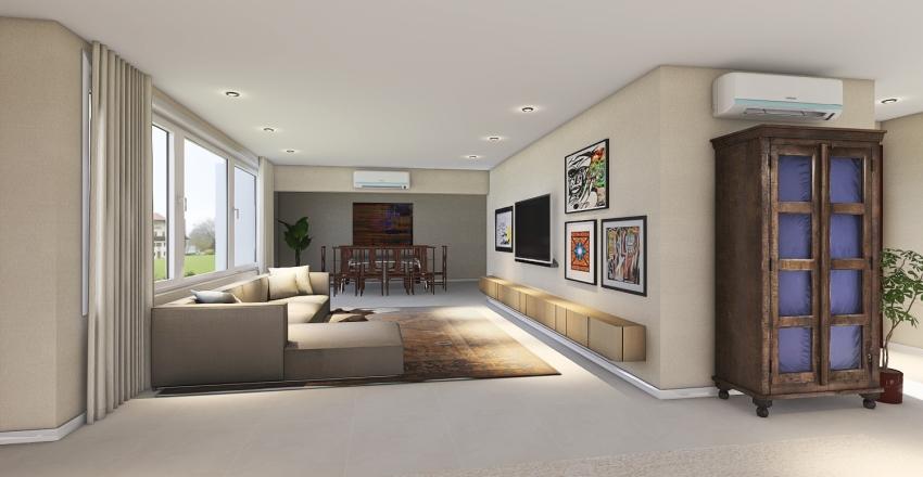 Apartamento 601 Interior Design Render