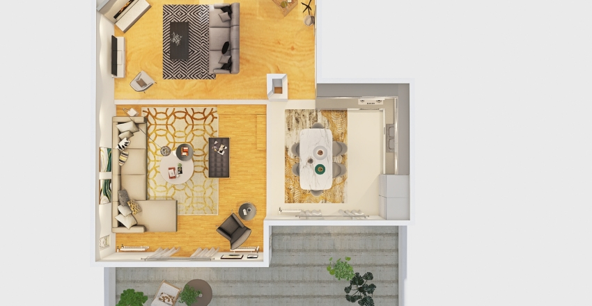 ΜΑΝΟΥΣΑΚΑ Interior Design Render