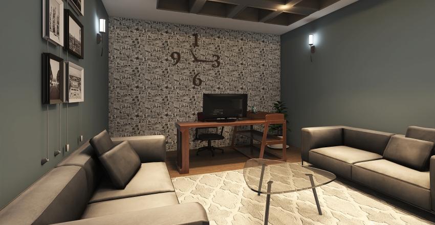 murtaja office Interior Design Render