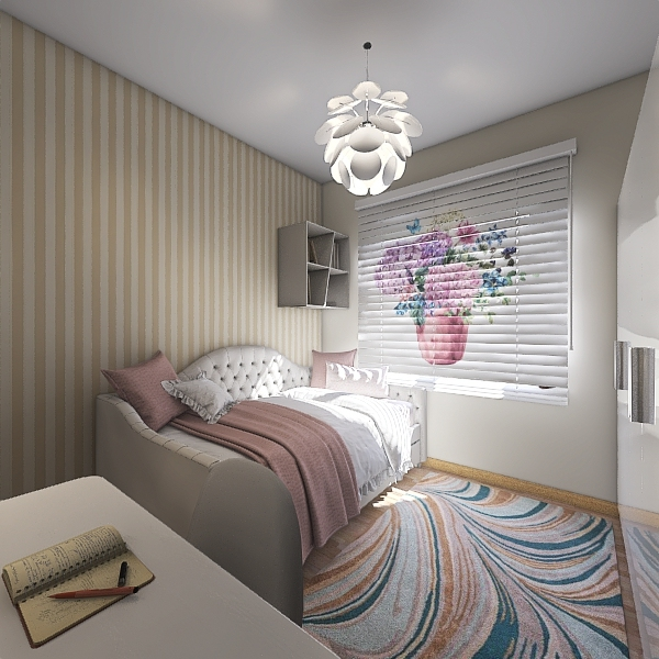 Quarto Sophia Interior Design Render
