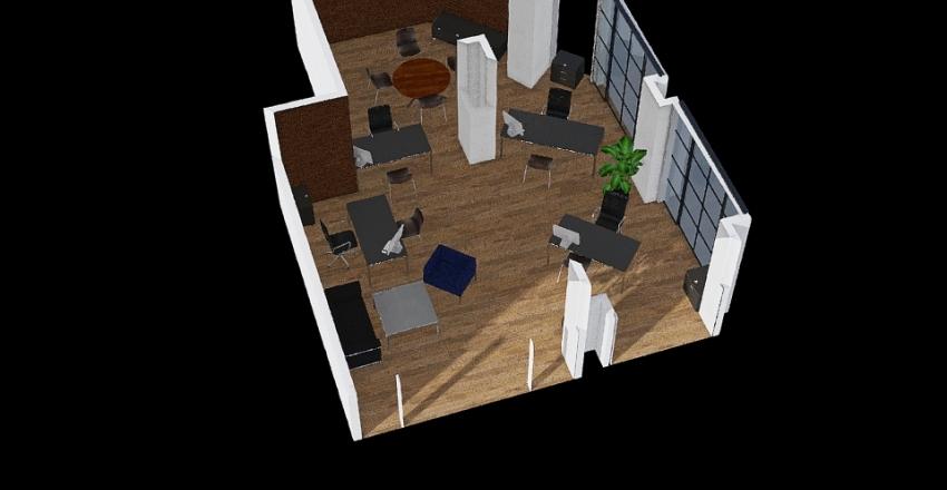 Oficina 5 Interior Design Render