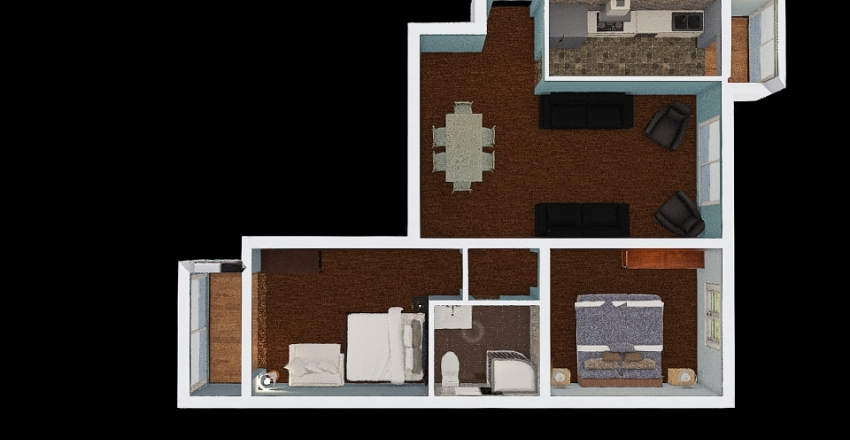 Template2 Russell  Interior Design Render
