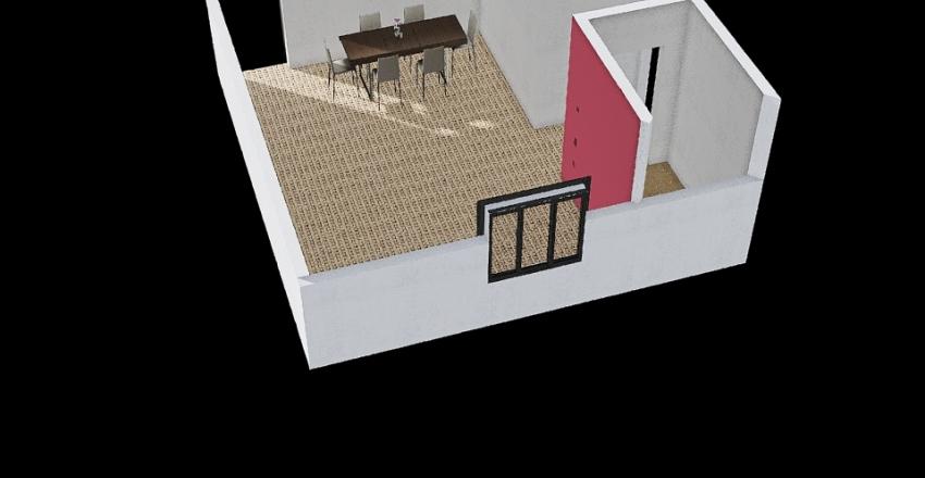 CASA DA LARISSA Interior Design Render