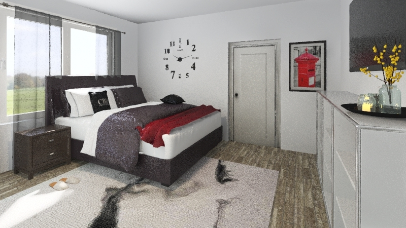 Heaven Bedroom Period 4 Interior Design Render