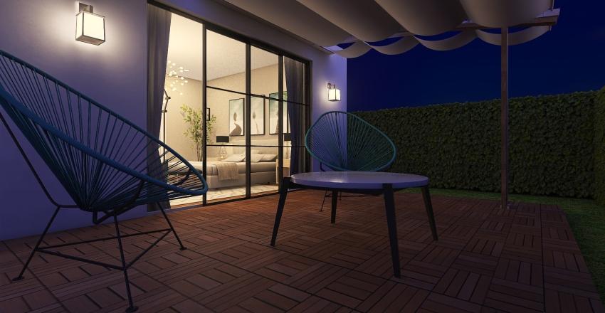 Spanish Bungalow Interior Design Render
