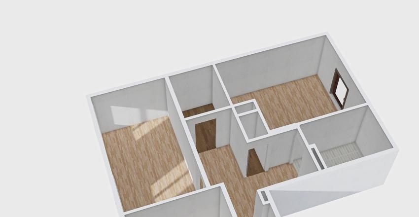 Mieszkanie Dziadka Interior Design Render