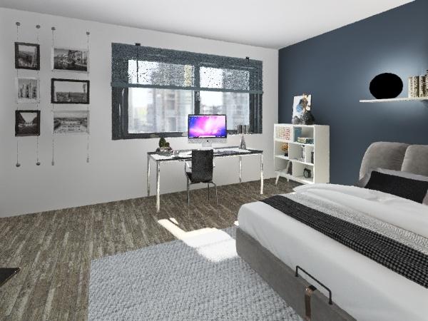 stanza da letto Interior Design Render
