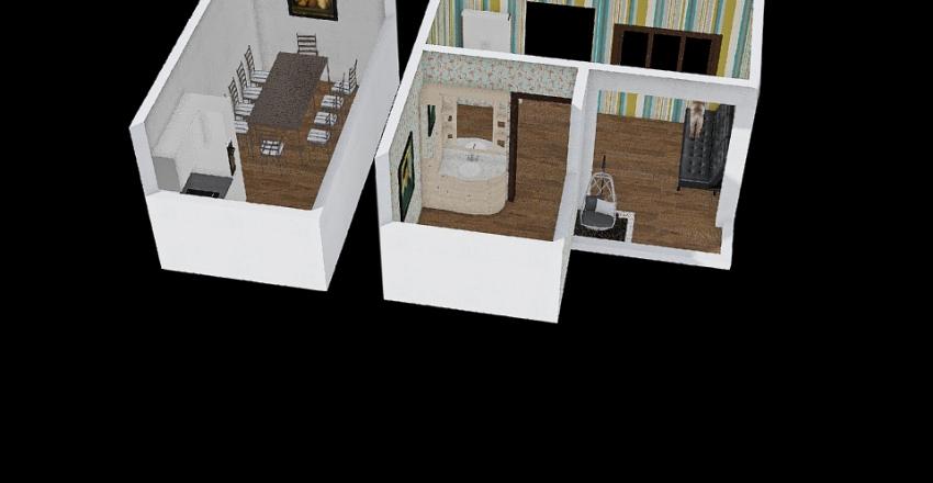 tiny house renewed Interior Design Render