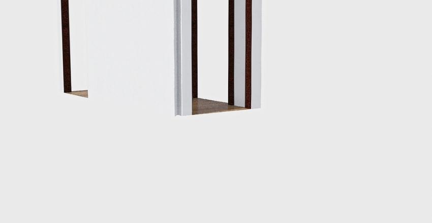 Hallway 1 Interior Design Render