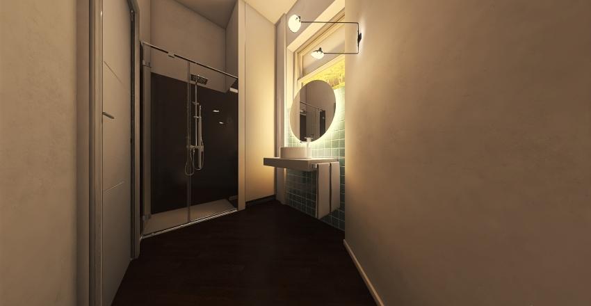 Bagno ufficio commercialisti Interior Design Render
