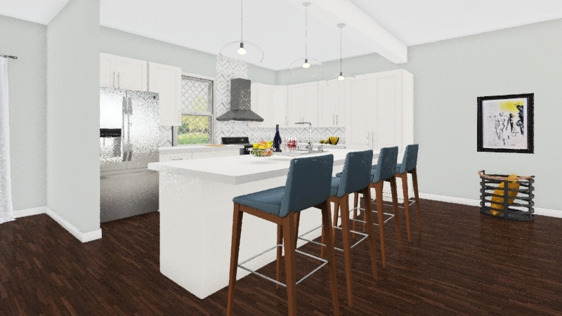 Home remodeling H-Town Interior Design Render
